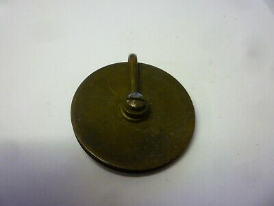 One Antique Grandfather Clock Weight Pulley (x2)