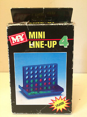 Line-Up Game Connect 4 Mini Version For Travel Boxed                          JP
