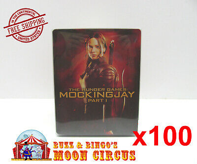 100x BLU-RAY STEELBOOK CLEAR PROTECTIVE SLEEVE - BOX PROTECTORS - NO J-CARD SIZE