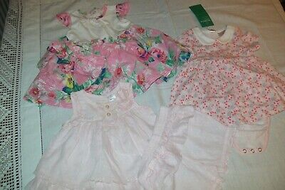 Baby girls clothes dresses monsoon/next/H&M 0-3m - combined postage available