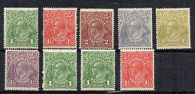 Australia 1924 Sideface set to 4 1/2d  MLH/MH