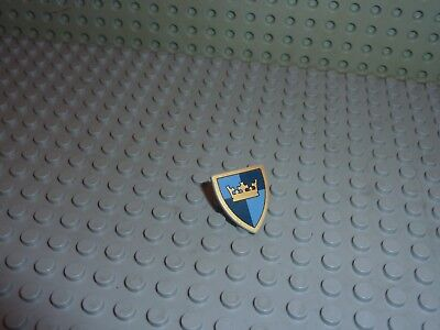 LEGO castle Minifig Shield with crown 3846px20 set 7094 7091 7093 7029 7041 ..