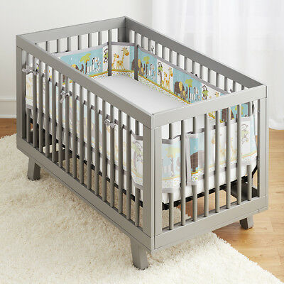 NEW BreathableBaby Classic Breathable Mesh Crib Liner - Best Friends