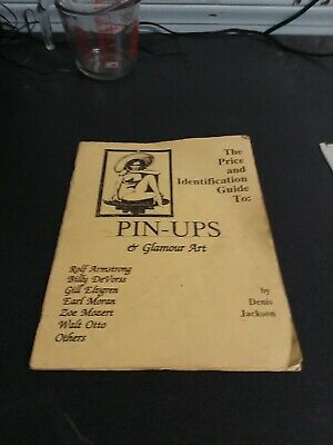 Pinups Collectible Book Pin Ups Glamour Art Price Identification Guide 1992