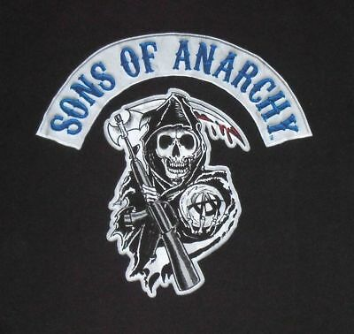 SONS OF ANARCHY motorcycle biker TV television series Grim Reaper shirt