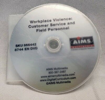 Workplace Violence: Customer Service and Field Personnel Training DVD Only