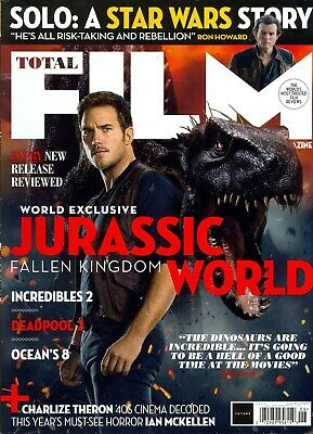 Total Film 272 June 2018 Jurassic World Fallen Kingdom-Deadpool2-Incredibles 2