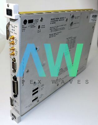 E1406A Agilent Keysight VXI Command Module C-Size Option 010 - 30 Day Warranty