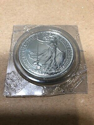 2012 1 oz Silver Britannia Coin UK Great Britain Queen Elizabeth II BU - Sealed