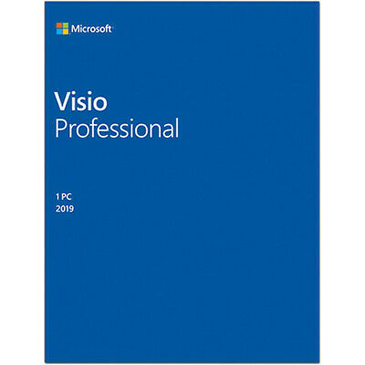 Visio Professional 2019 32/64Bit Product Key Esd Multilanguage Fattura Nuovo