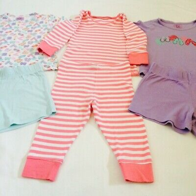 12-18 Baby Girls Pyjamas Bundle X 3.