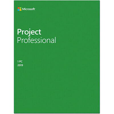 Project 2019 Professional 32/64 Product Key Esd Multilanguage Fattura Nuovo