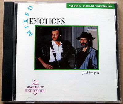 """Mixed Emotions """"Just For You"""" RARE 1988 Synth-pop cd"""
