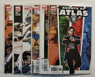 Full Run Agents of Atlas #1-6 Marvel Limited Series 2006 Complete Set Lot DEAL!!