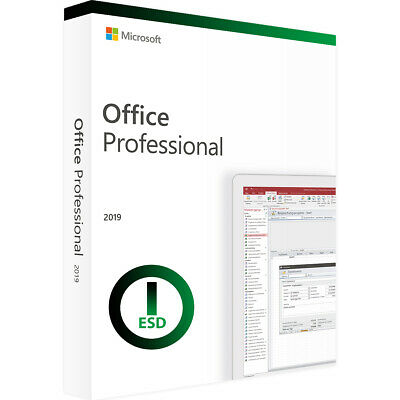 Office Professional Plus 2019 License Key for PC