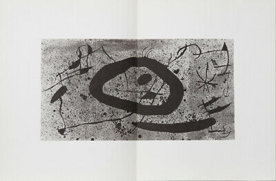 Joan Miro, Les Essencies de la Tierra 6, Lithograph on Guarro