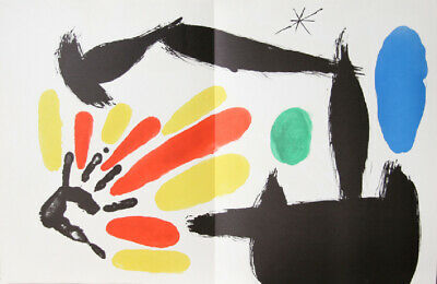 Joan Miro, Les Essencies de la Tierra 11, Lithograph on Guarro