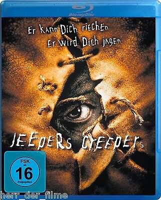 JEEPERS CREEPERS (Justin Long, Gina Philips) Blu-ray Disc NEU+OVP