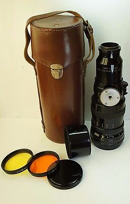 Perfect!Telelens TAIR 3 4.5/300 M39 Russian Lens Grand Prix Brussels 1958 +Canon