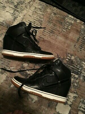 best service d3ad1 c2302 Nike Dunk Sky Hi Essential 644877 011 Size 5.5 Excellent Condition Womans  Air