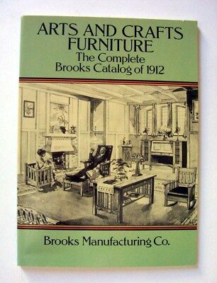 Arts & Crafts Furniture, Complete Brooks Catalogue of 1912, Design, Architecture