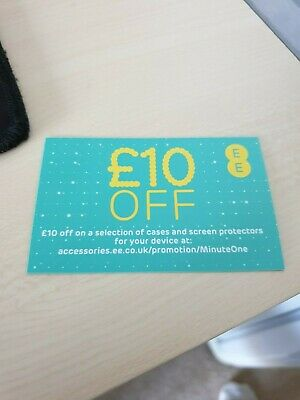 EE £10 OFF Voucher On Cases and Screen Protectors