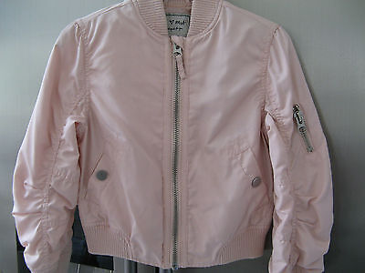 Next Girls Pink Coat / Jacket 6 Years Hardly Worn Vgc