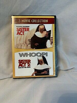 Sister Act & Sister Act 2: Back in the Habit [New DVD] 2 Pack