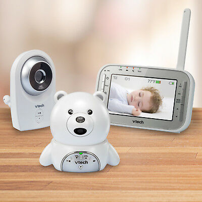 VTech Expandable Digital Video Baby Monitor,Two Cameras,Automatic Night Vision
