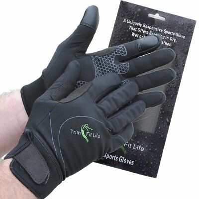 SportyGlove Windproof Breathable Water Resistant Running Sports Glove Small Blac