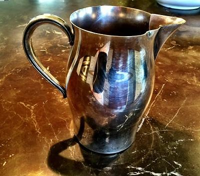 Vtg WM ROGERS PAUL REVERE REPRODUCTION Silverplate Water Pitcher