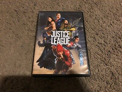Justice League (DVD, 2018) 2-DISC SET, GREAT SHAPE
