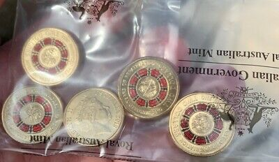 2019 $2 100 Years Of REPATRIATION - Bringing Them Home 5 Coin Mint bag