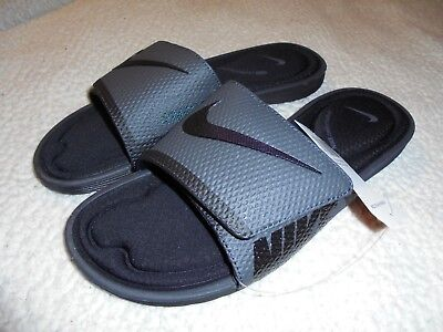 5e12c8044 Nike Men s Solarsoft Comfort Slide Sandals Size 8 Black anthracite  705513-090