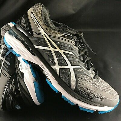 607ac44830 ASICS GT 2000 5 Carbon/Silver/Island Blue Mens Running Shoes. New In ...