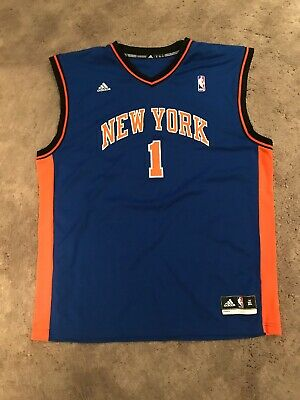 e63b1d73cb1 ADIDAS SWINGMAN NBA Jersey New York Knicks Amare Stoudemire Size XL ...