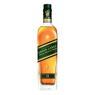 Johnnie Walker Green Label 15 Year Old Scotch Whisky 700ml NO BOX