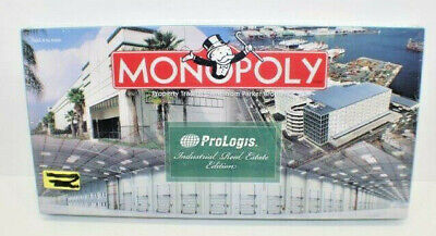 NEW - Monopoly Prologis Industrial Real Estate Edition Parker Bros Board Game
