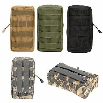 1000D EDC Pocket Organizer Bag Tactical Molle Medical First Aid Pouch Practical