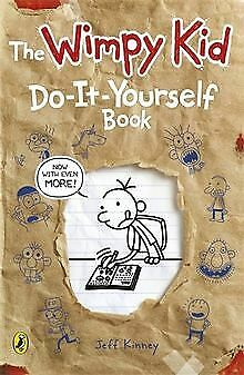 Diary of a Wimpy Kid: Do-It-Yourself Book by Jeff Kinney   Book   condition good
