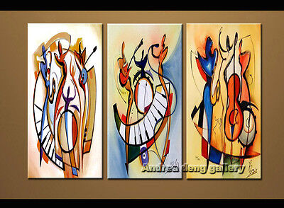 Large Modern Abstract Alfred Gockel oil painting Repro on Canvas Wall Art A1517