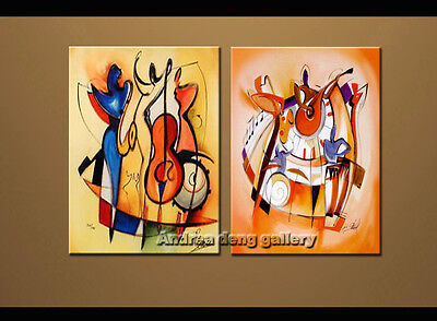 Large Modern Abstract Oil Painting on Canvas Contemporary Wall Art Framed A1519