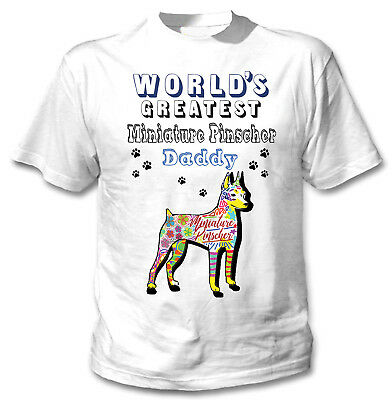 Miniature Pinscher EST 1919 Dog Lovers Pure Bred Puppy Breed Loyal Mens V-Neck