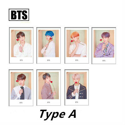Kpop BTS Map of The Soul: Persona Polaroid Photo Cards New Album Photocard Cards
