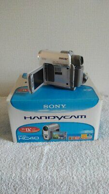 SONY HANDYCAM DCR-HC40 from Japan Used Mint Worldwide Shipping free