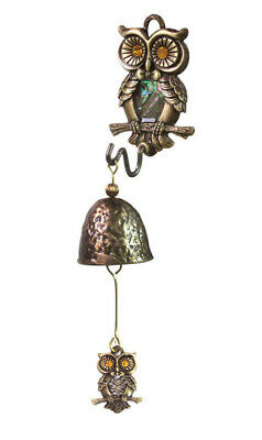 Owl Casting Door Bell _ Casting Wind Chimes _Hanging Bell