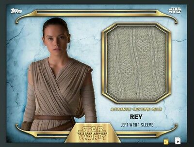 DIGITAL CARD Topps Star Wars Card Trader Daisy RIdley Rey Costume Relic Card