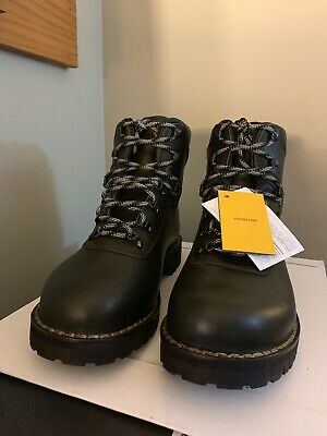 a8308a02bfd NEW ALICO SUMMIT Made in Italy LEATHER HIKING BOOTS MEN'S - GreenBlack -  size 12