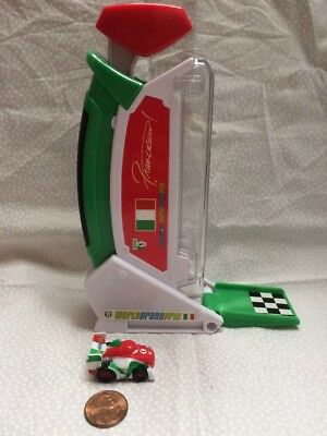 Disney Cars Micro Mini Drifters Racers Francesco Bernolli Rapid Fire Launcher Rd