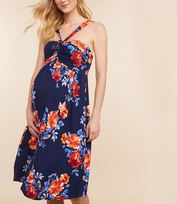c49801472b238 Beautiful Halter Maternity Dress - Motherhood (Jessica Simpson Collection)